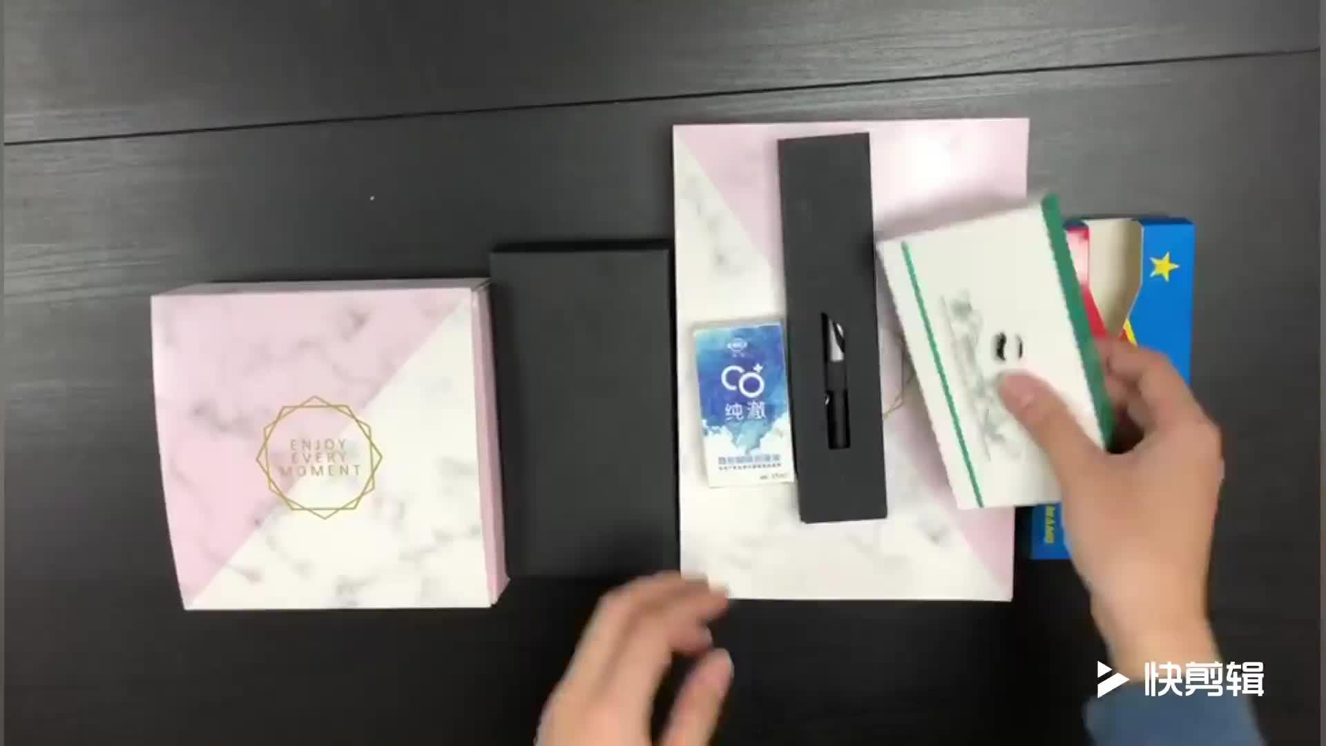 Kartonnen Custom Snapback Hoed Box Verpakking