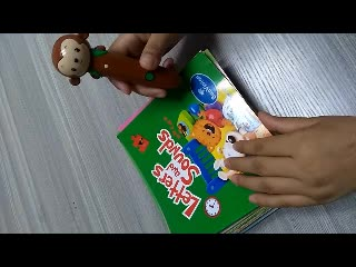 Preschool children talking pen and english books for 2-6 years old kids learning english with fun