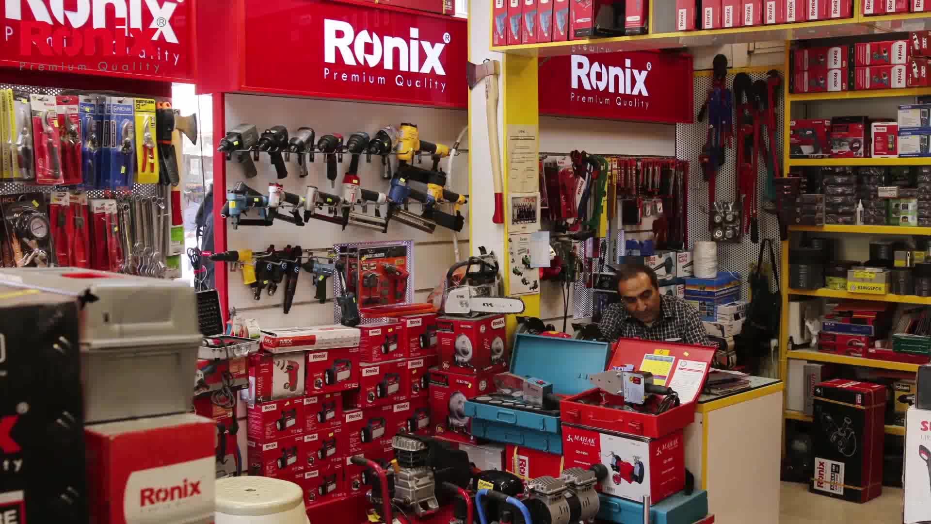 RONIX ahşap işleme aletleri Elektrikli Ahşap Planya 500 W modeli 9210