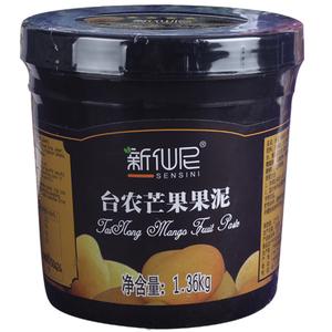 领【3元券】购买新仙尼台农芒果百香果果泥粒果酱