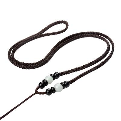 买5送5本命年手工编织玉佩吊坠挂绳