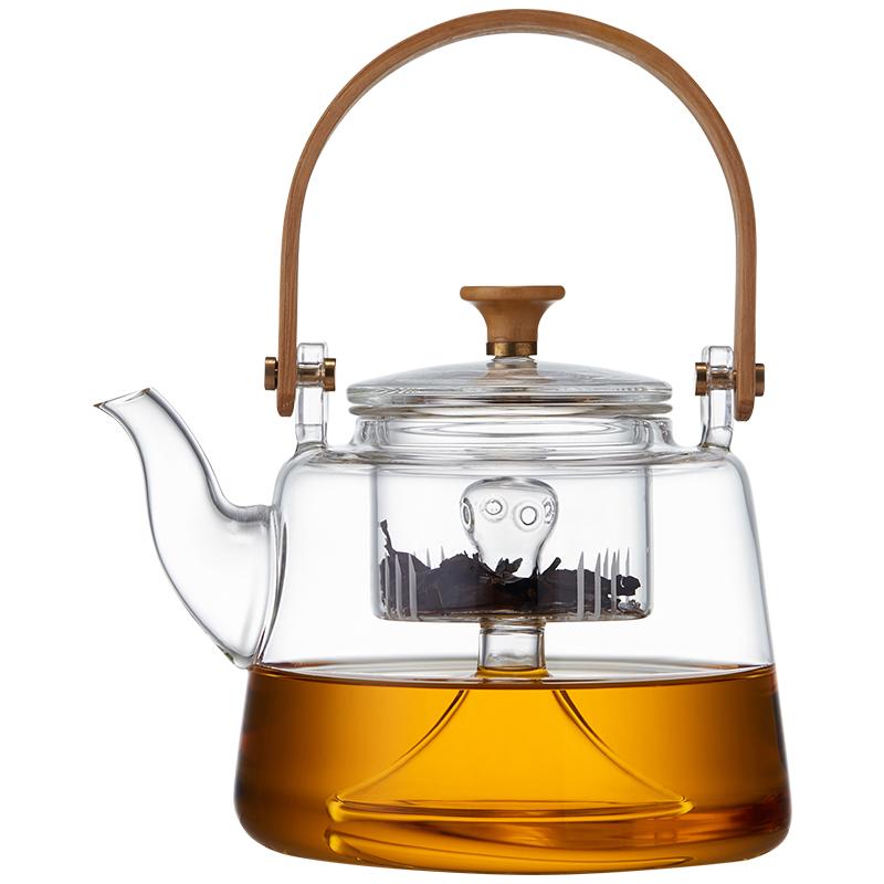 玻璃蒸煮茶壶电陶炉烧水耐热泡茶器评测好不好