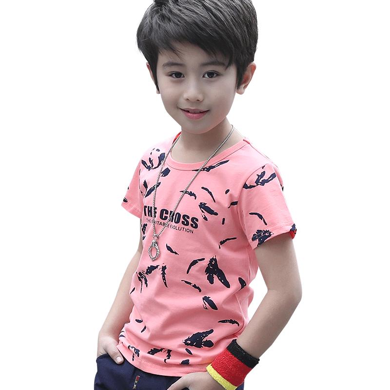 童装男童短袖t恤2019新款夏季中大童夏装儿童半袖宝宝春装上衣潮