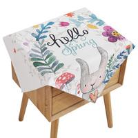 棉麻床头柜小多用万能桌布质量如何?