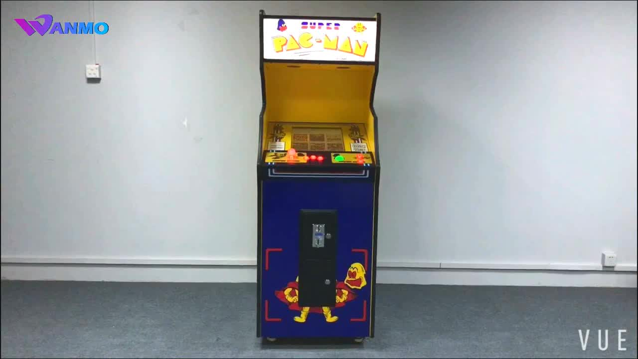 Factory Customize Stand Up Arcade Cabinet Multi Retro Arcade Games Machine  For Sale