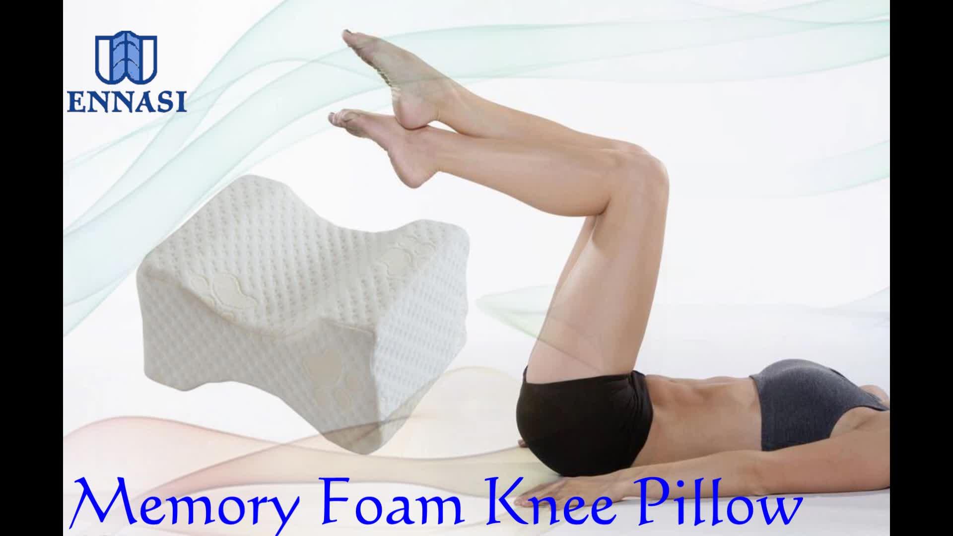 工場直接販売低反発輪郭整形外科膝枕用サイド枕木睡眠