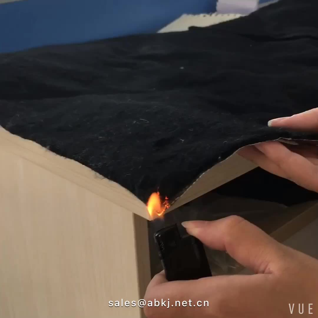 Haute qualité ignifuge ouate de polyester pour le remplissage de matelas