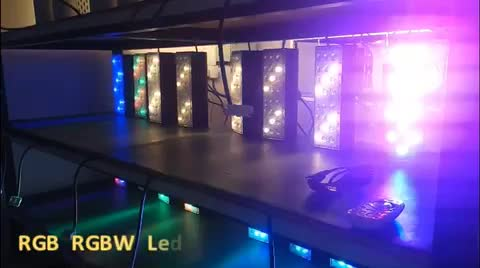 IP67 ETL outdoor RGB/RGBW led lights wall washer for facade lighting