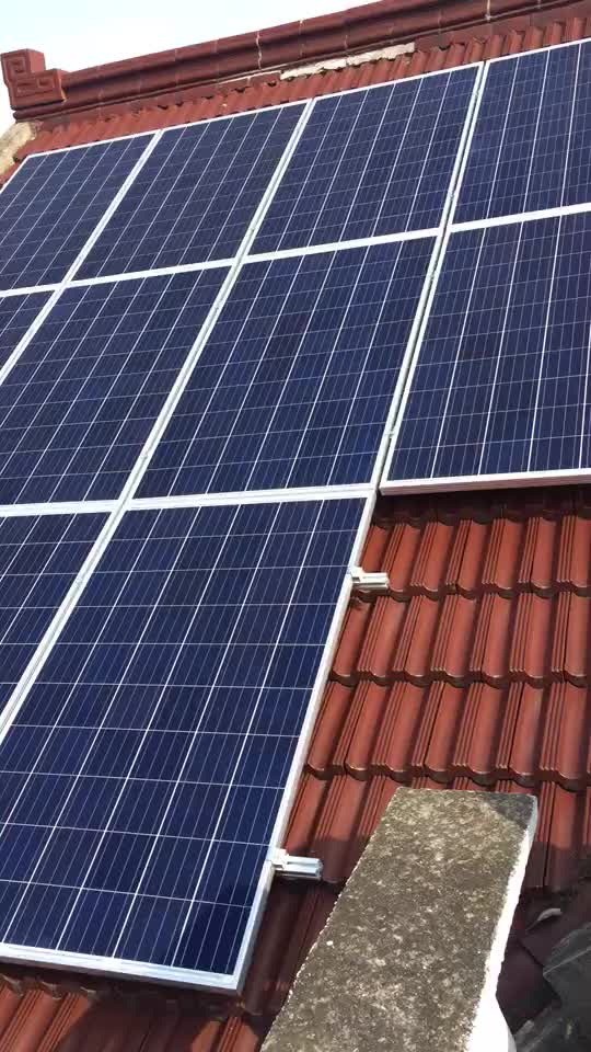 High efficiency 3kw off grid solar power system home solar for Energy efficiency kits