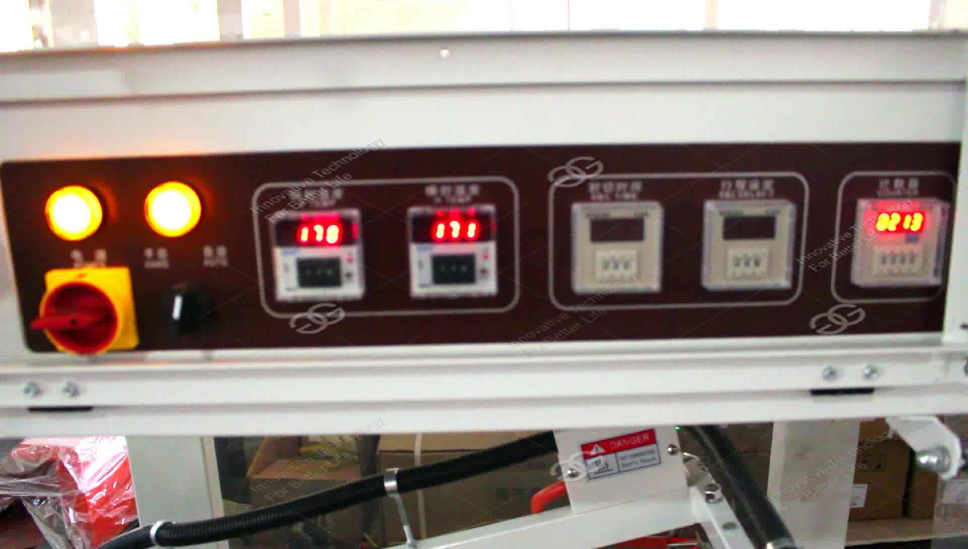 Manicotto automatico di Taglio Piccolo Telefono Cellulare Scatola di cartone Confezionamento in Film Pet Bottiglia Termica di Calore Shrink Tunnel Avvolgimento Macchina