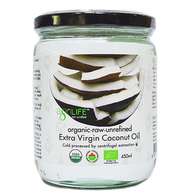 泰国纯天然有机椰子油450ml食用冷压初榨按摩卸妆护肤护发临期9月
