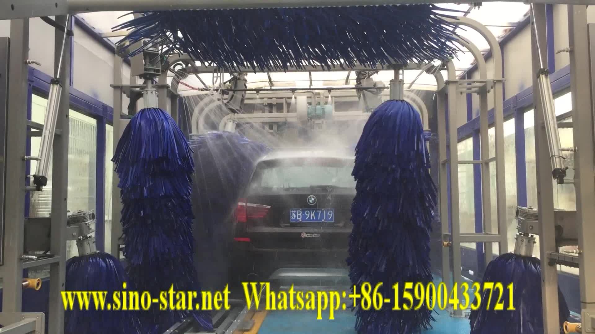 Tunnel car washing machine/tunnel cleaning machine/car mat cleaning machine(S6)