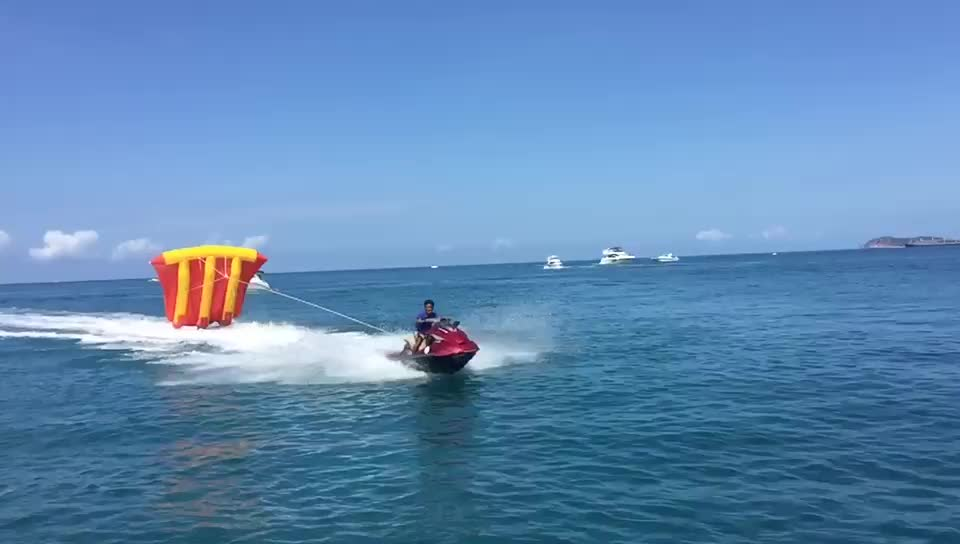 Water sports toys inflatable flying fish for sale/inflatable water sled fly fish