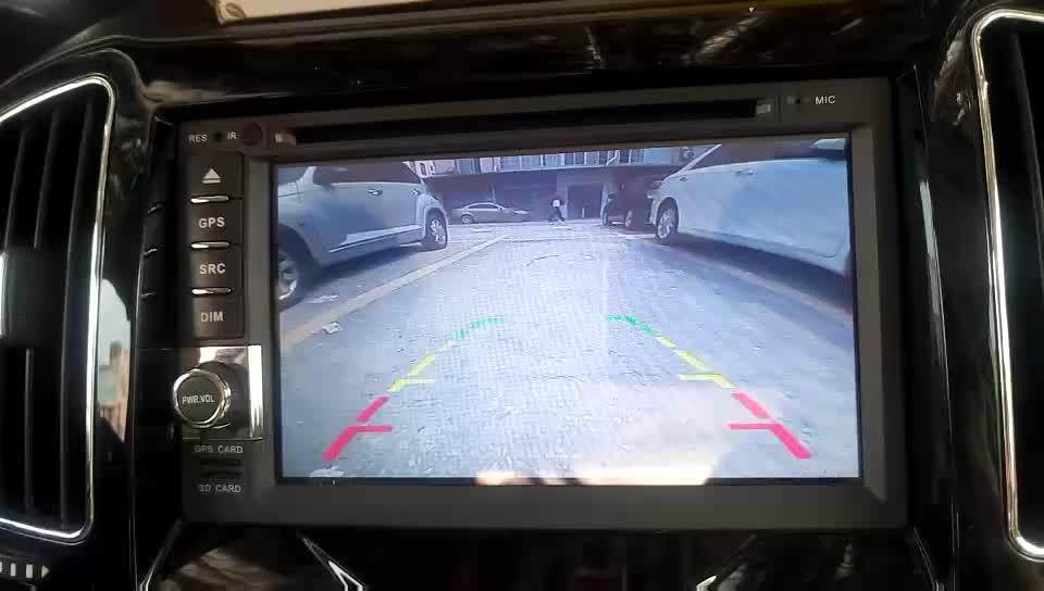 Smartour ヨーロッパフレーム反転カメラリアビューミラー ccd ナンバープレートフレーム LED スタンバイリアビュー自動逆カメラ