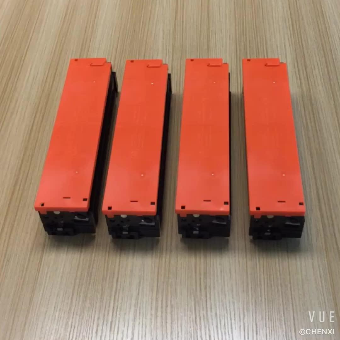CHENXI 201a color toner cartridge cf400a cf401a cf402a cf403a compatible for hp m252 m277