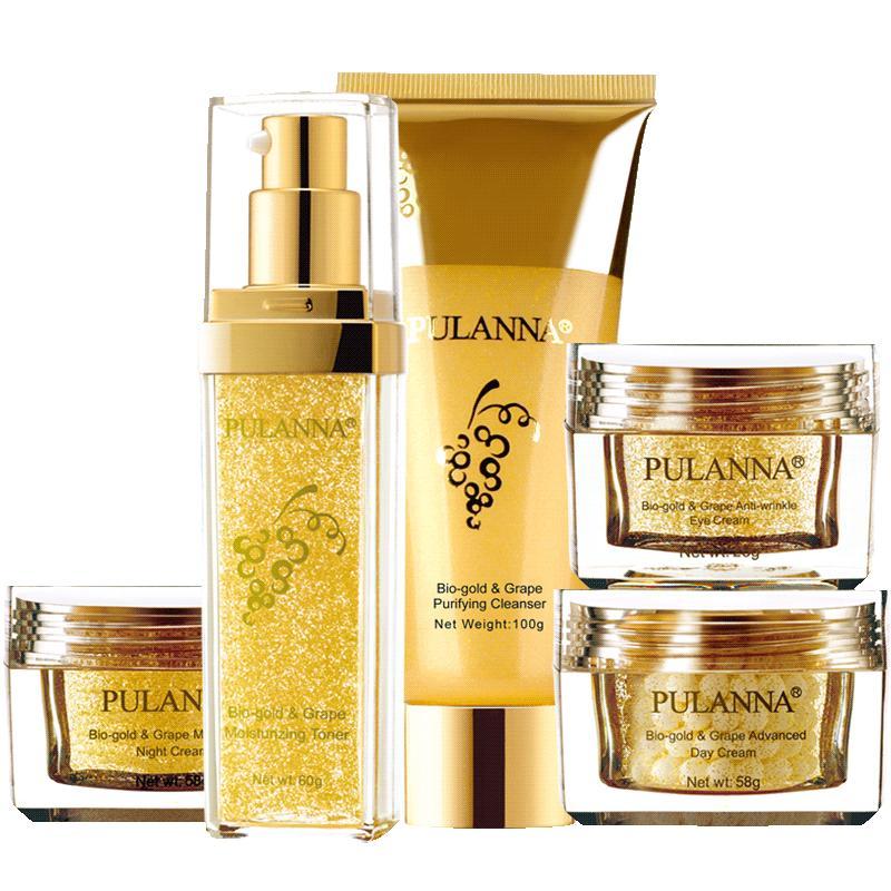 普兰娜活性金葡萄礼盒护肤套装面霜值得买吗