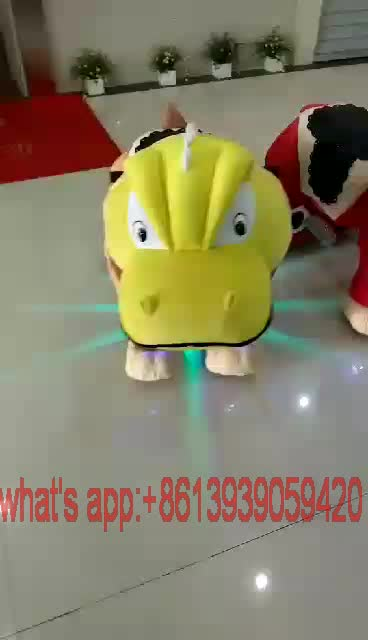 Hot selling coin operated Animal Toy Riding Walking Animal For Kids