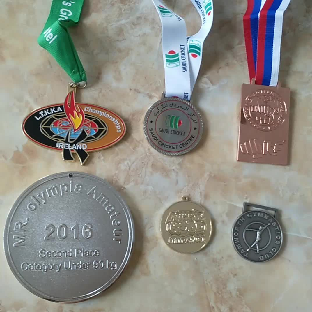 antique silver square children foundation medal award