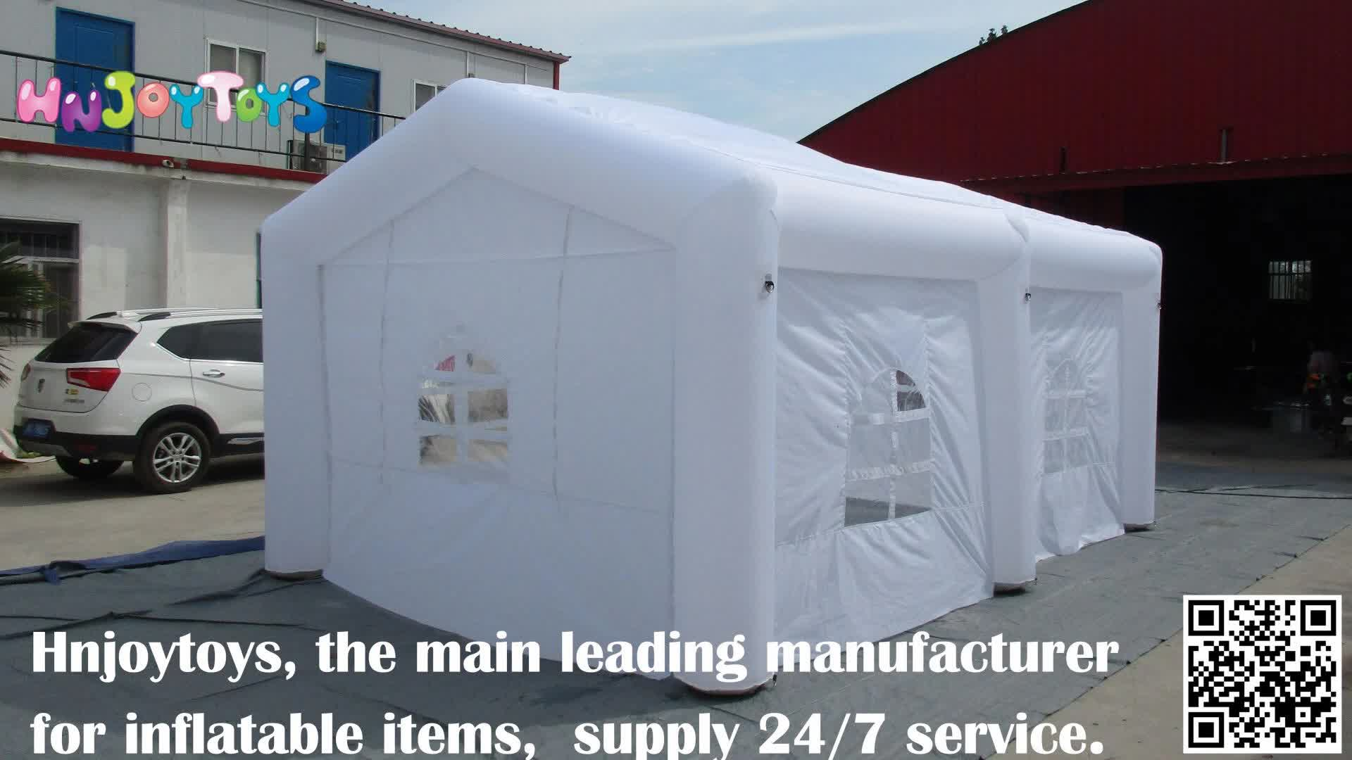 Inflatable Spray Booths