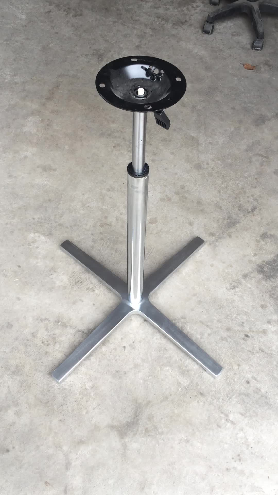 base raw clear in fullxfull steel u table industrial handmade il legs coated s metal listing