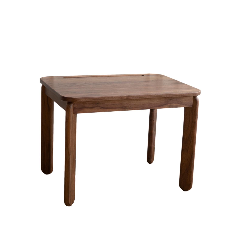 木木儿童桌北欧全实木黑胡桃写字桌值得购买吗