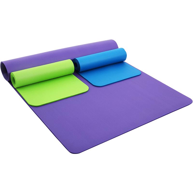 超大双人瑜伽垫防滑女孩加厚加宽加长健身舞蹈地垫子儿童练功家用