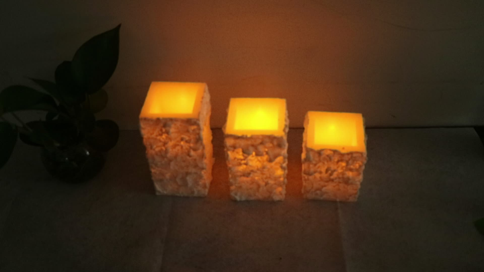 Cheap Flameless LED Candles with Timer and Letter Printing Gardenline Flameless Lantern with Led Candle