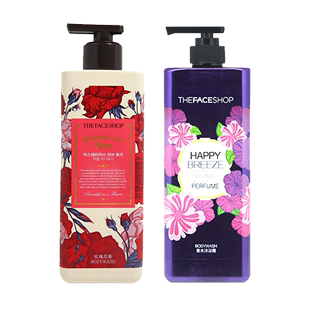 [two bottles] THE FACE SHOP body wash 500ml