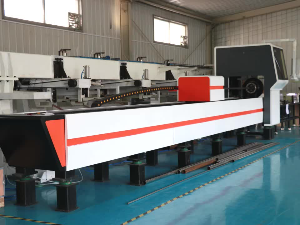 China Widely Used Cnc Fiber Laser Tube Cutting Machine For