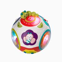 babycare宝宝爬行玩具0-1岁婴儿学爬引导 电动益智转转球学爬神器