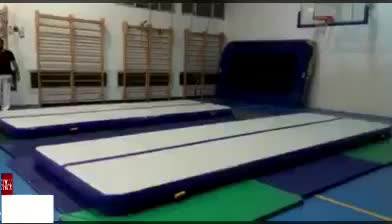 Cheap inflatable air track/air mat for sale