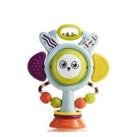 babycare宝宝吃饭餐椅吸盘玩具 0-1岁婴儿安抚摇铃儿童益智手摇铃
