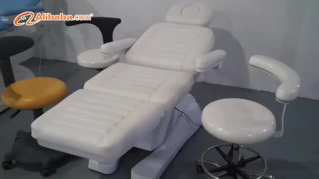 Triumph New Design PU Foaming White Electric Treatment Table Physiotherapy massage bed , Adjustable Cosmetic Electric Beauty Bed