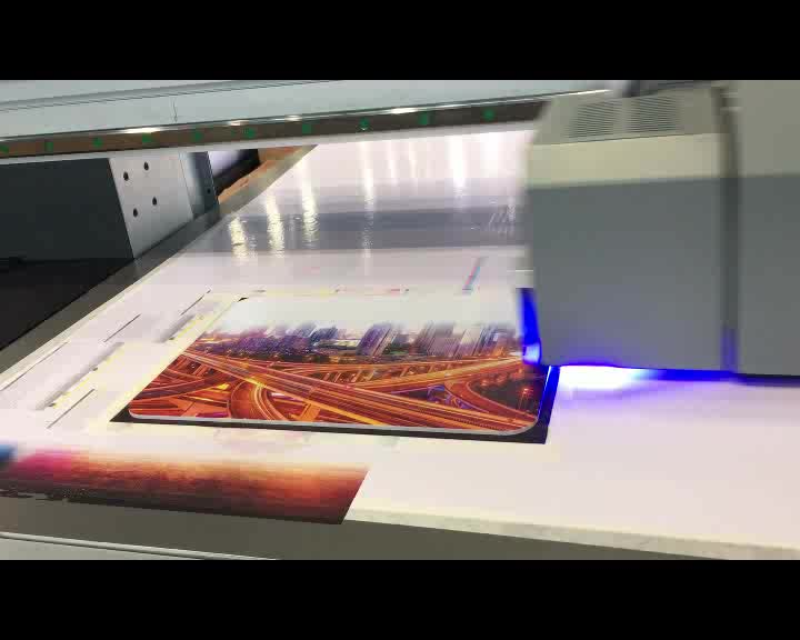 KingJet Best Price Digital Ceramic Tile Glass Wood Inkjet Outdoor Large Format LED UV Flatbed Printer