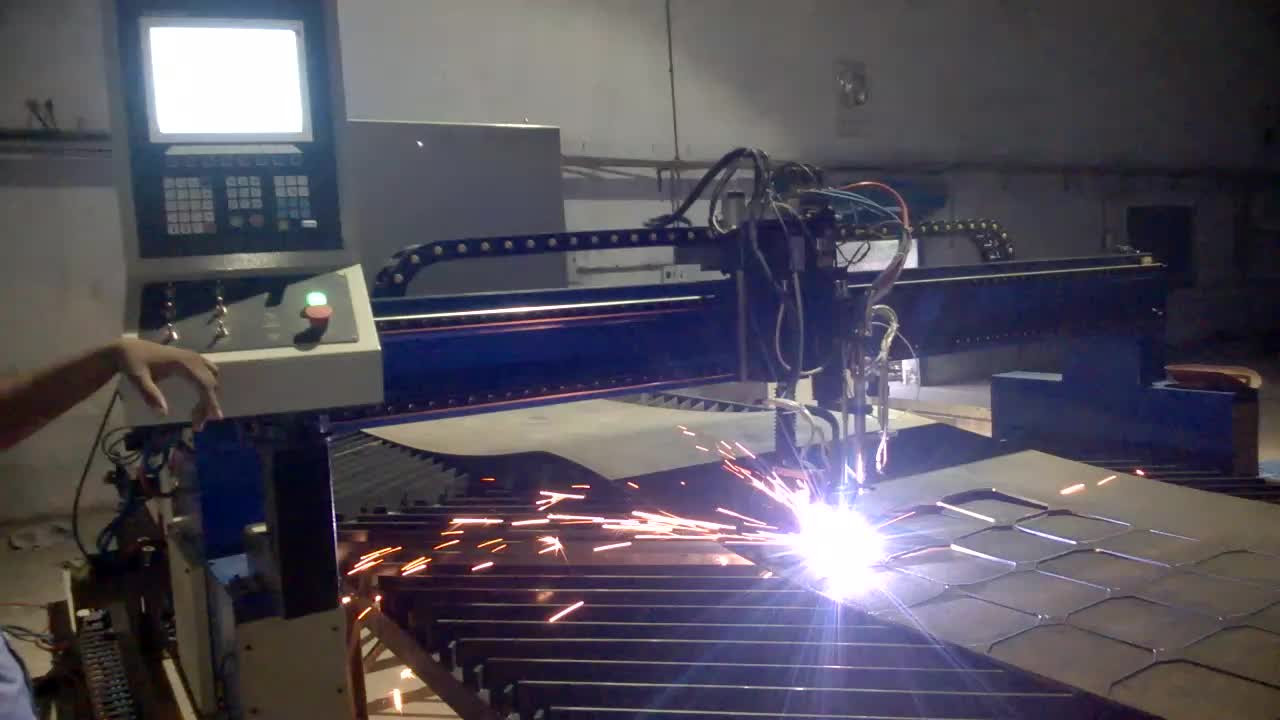 Light Gantry Mode CNC Steel Plate Flame/Plasma Cutting Machine