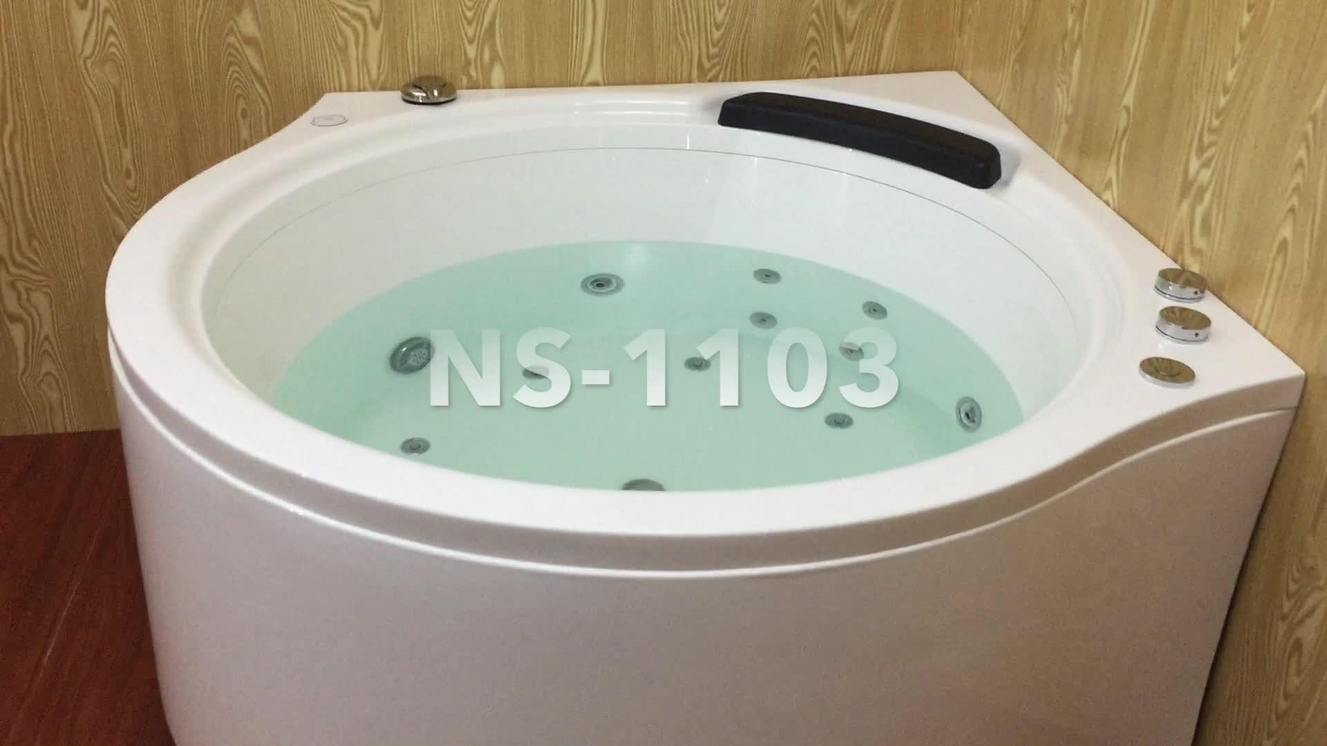 1.4m American Standard Corner Tub With Electric Water Volume ...