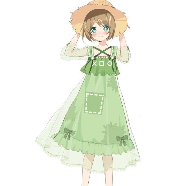 漫之迷第五人格同人原创园丁软妹裙日常夏季雪纺洋装cos游戏周边