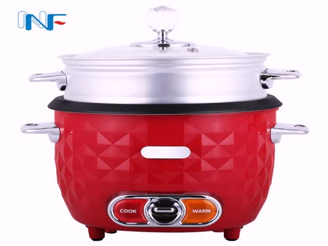 Drum Shape tinplate Materia Rice Cooker