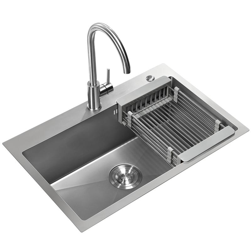 悍高厨房纳米手工304不锈钢洗菜盆质量靠谱吗
