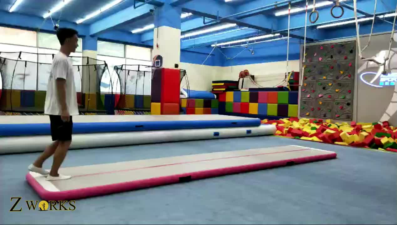 Cheap Durable Tumble Track Inflatable Air Mat For