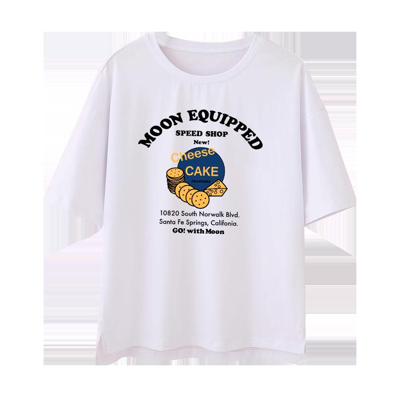 白色t恤女短袖2020夏季新款韩版宽松ins超火纯棉百搭学生半袖体恤