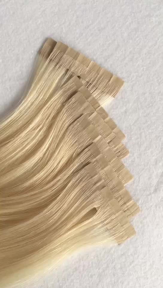 Six Flour Hair Pieces Tape In Hair Extension Thin And High Quality