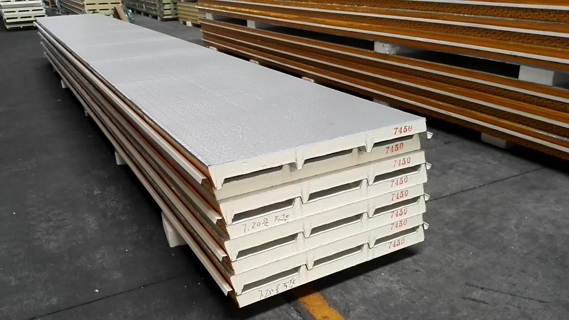 Polyurethane Sandwich Panel : Pu sandwich board polyurethane insulation panel