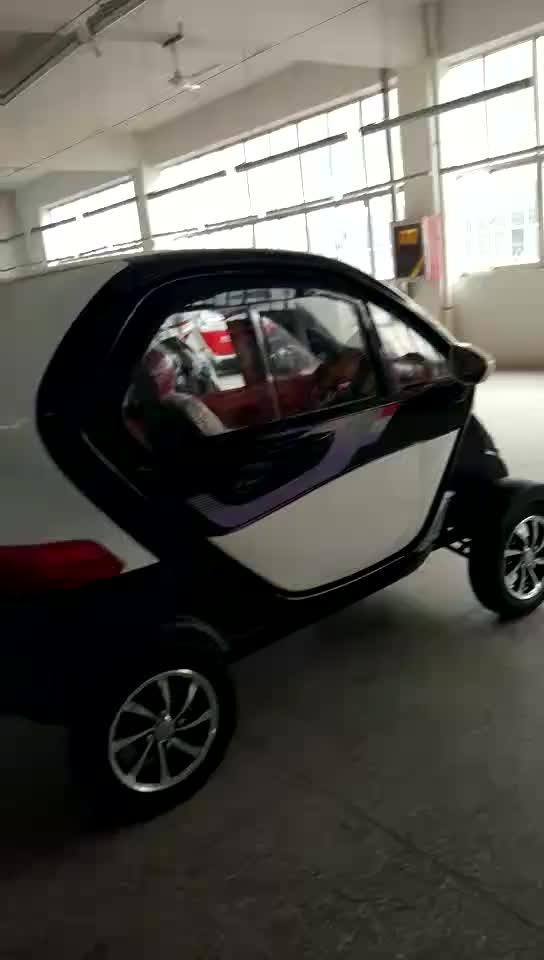 Fábrica de vender 4 rodas motrizes carro elétrico aceitar OEM para idosos de passageiros