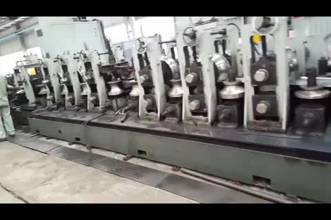 High frequency round tube carbon steel copper tube making machine