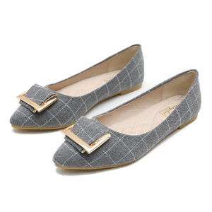 夏季尖头单鞋女2021新款黑色工作鞋