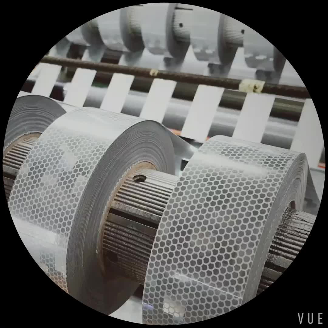Self Adhesive PVC Safety Material Reflective Tape