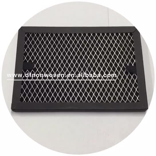 Carbon filter replacement electronic air cleaners
