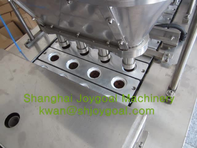 JOYGOAL K CUP coffee capsule filling machine with flush nitrogen