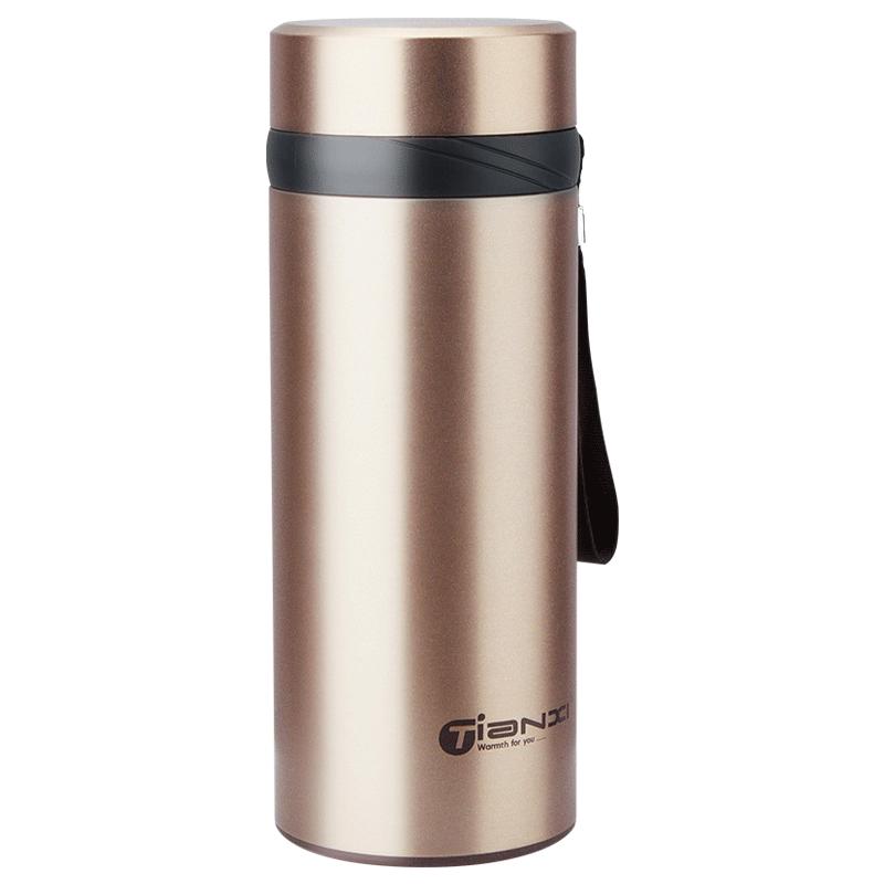 天喜大容量保温杯304不锈钢水杯男女士便携杯子大号茶杯户外水壶